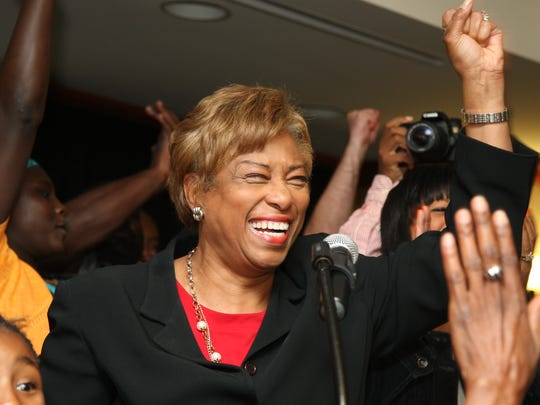 Now U.S. Rep. Brenda Lawrence, D-Southfield, gives