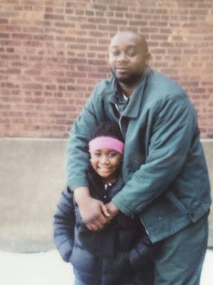 Samuel Harrell with his niece. Harrell died in April while imprisoned at Fishkill Correctional Facility in Beacon.