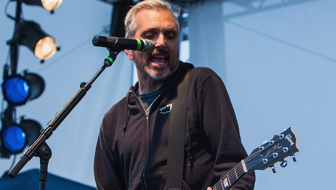 Art Alexakis of Everclear performs Oct. 18 in Seattle.