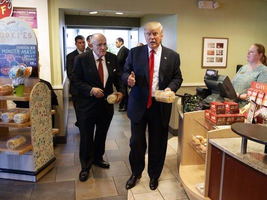 Donald Trump,Rudy Giuliani