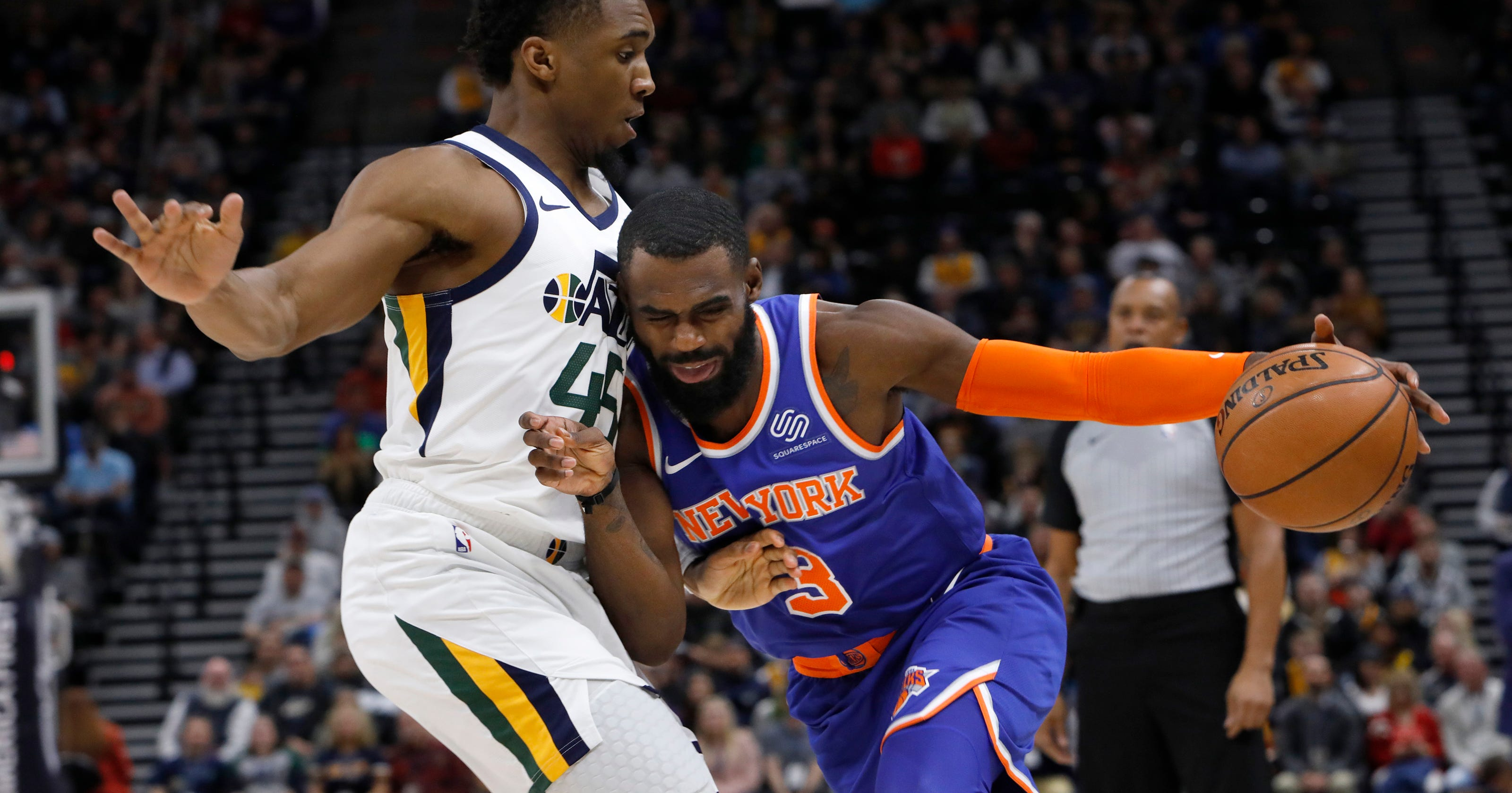 ce3e42b6efa 'Tough pill to swallow': Losing not getting any easier for Knicks' Tim  Hardaway Jr.
