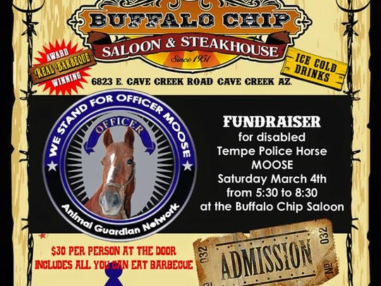 A fundraiser for further medical treatment for Officer