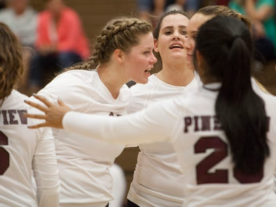 Pine View volleyball takes on Enterprise High Tuesday,