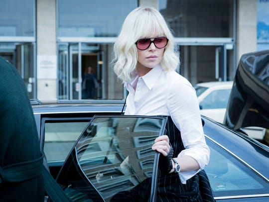 Charlize Theron is a secret agent with a particular
