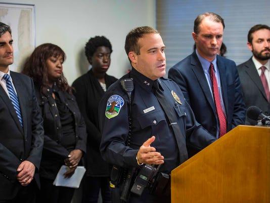 Burlington Police Chief Brandon del Pozo