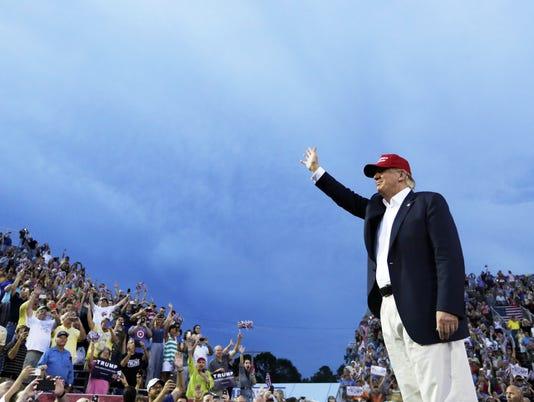 AP GOP 2016-TRUMP TV A FILE ENT ELN USA AL
