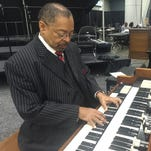 Larry King, of Mobile, Alabama, and Rev. Ronald Terry of Macon, Georgia, are the official organists for the NAACP Convention in Downtown Cincinnati.