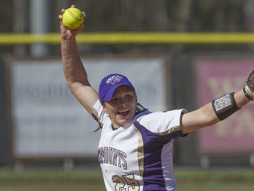 McDowell graduate Courtney Buchanan is a junior for the Western Carolina University softball team.