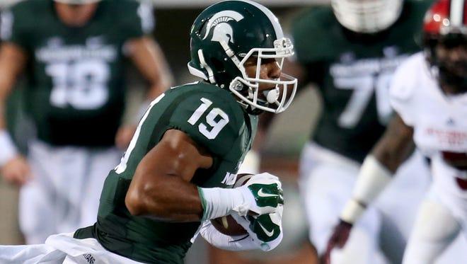 Michigan State WR AJ Troup