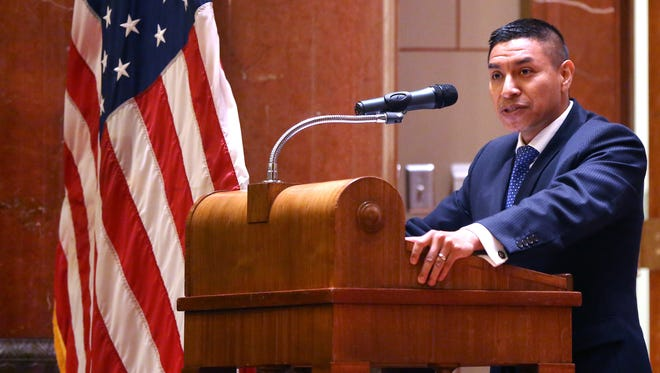 Republican Diego Morales is running to replace U.S. Rep. Todd Rokita in Indiana's 4th Congressional district.