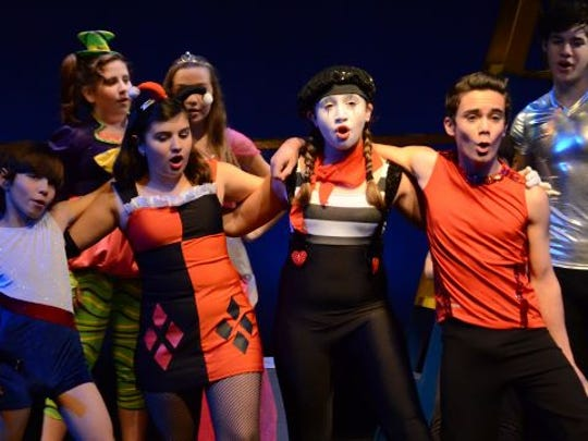 Centenary Stage Company YPW The Clown Fall 2014