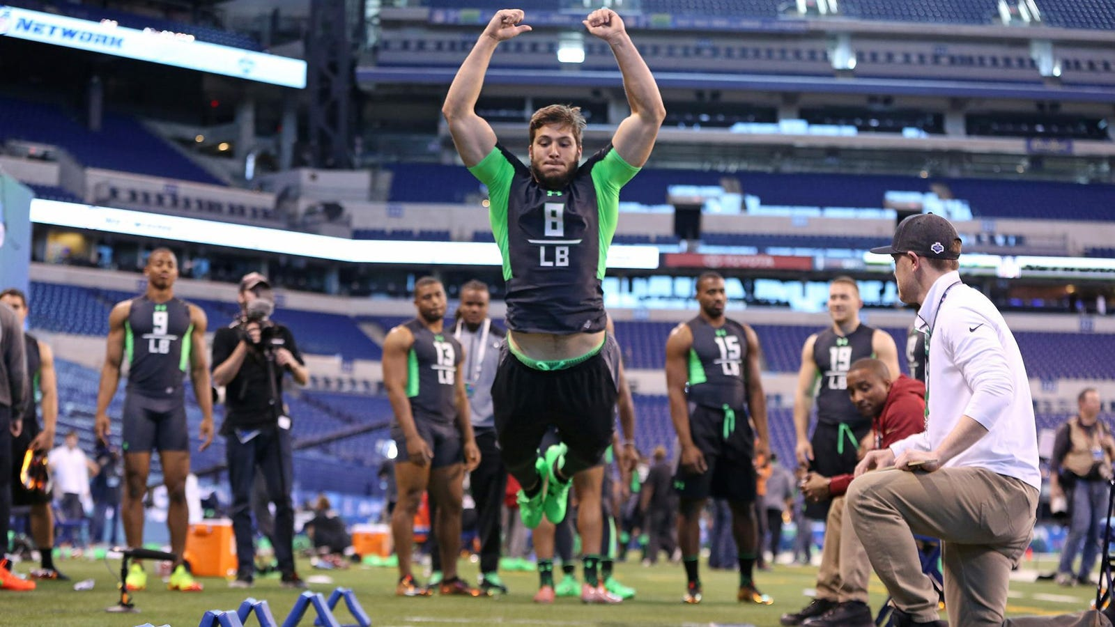 Third Round Kyler Fackrell Eager To Jump Into The Packers Mix At