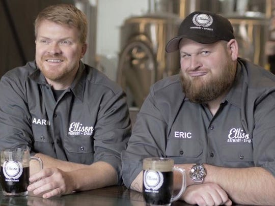 Aaron Hanson, left, and Eric Elliott are co-owners