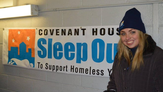 Kirsten Corley will be participating in New Jersey's first Sleep Out event.