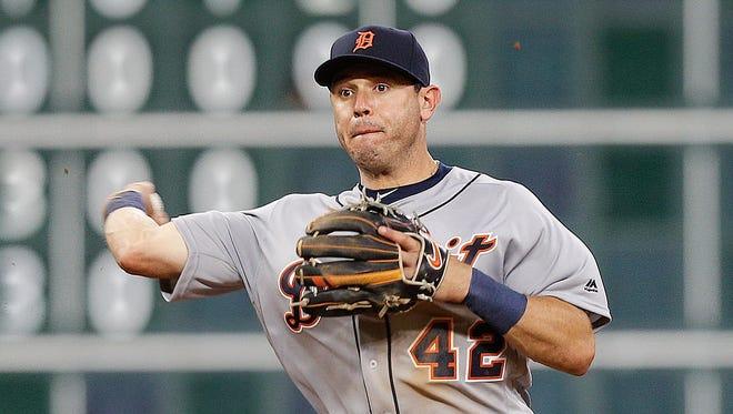 Ian Kinsler of the Detroit Tigers.