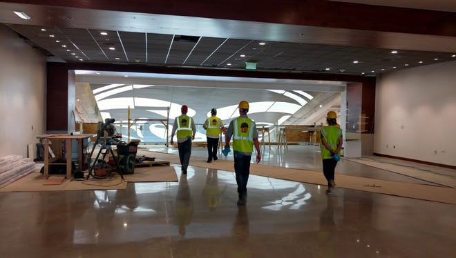 Fans will walk through the Hall of Champions to get to the OCR Field Club at CSU's new on-campus this fall. Memberships to the OCR Field Club and New Belgium Porch have sold out for the 2017 season.