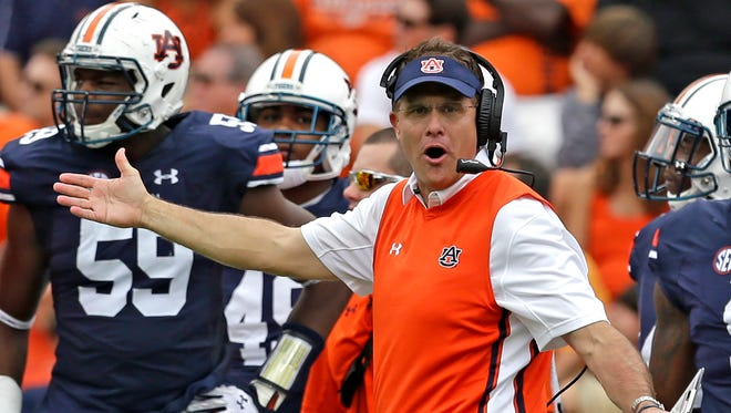 Don't worry, Gus Malzahn, your team found a way to beat powerhouse Jacksonville State. It's all good in the SEC.