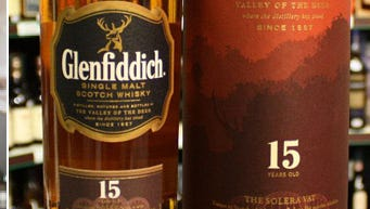 Chef Anthony Bucco and Glenfiddich whisky.