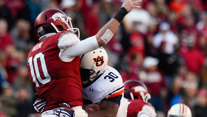 Auburnn has not identified who will take over Dee Ford's role as the top pass rusher.