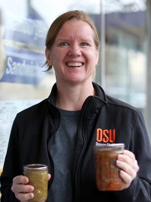 Tonya Johnson, with the OSU Extension Service, invites people to apply now for the Master Food Preservers Program, with the first class on Friday, April 14, 2017.