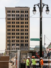 The Eddystone is a long-abandoned, 13-story former