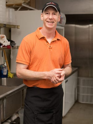Matt Madison, owner of Madisono's Gelato, in his Glendale production facility.