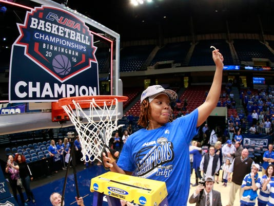 NCAA Womens Basketball: Conference USA Tournament-Middle Tennessee State vs Old Dominion