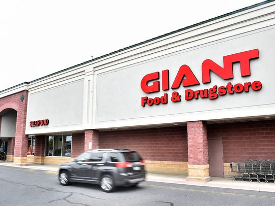 The Giant grocery store at 925 Norland Ave., Chambersburg, pictured here in June 2017, has begun offering same-day pickup through Giant Direct. Customers first order their groceries online, then an associate will deliver their items to their vehicle once they pull up out front at their chosen pickup time.
