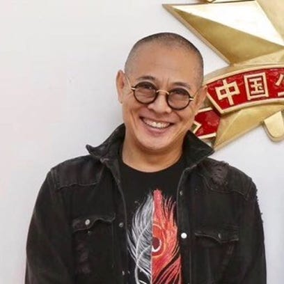 Actor Jet Li in a recent photograph.