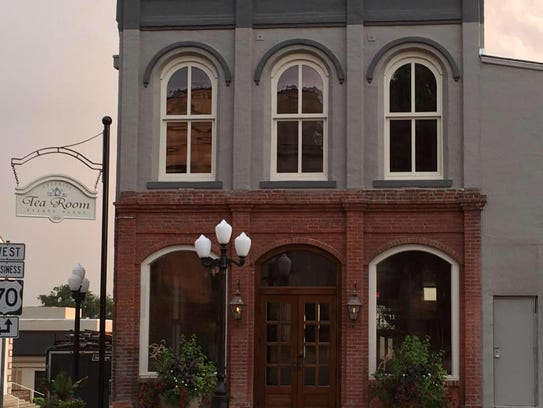 The Colonial Tea Room in Huntingdon will be open to