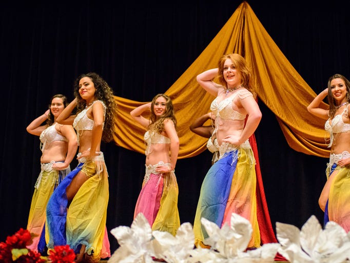 The Florida State University Bellydancers present their