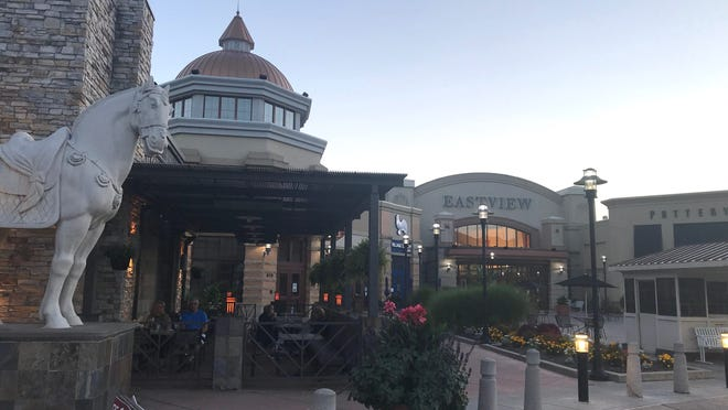 Eastview Mall reopens after shutdown.