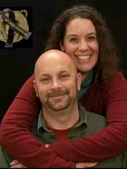 Slain math teacher Michael Landsberry, shown with his wife, Sharon, will be honored today for his heroism on Oct. 21, 2013, when he went toward the shooter on the school grounds.