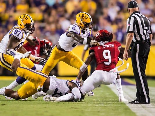 Jacksonville State vs LSU Tigers                     September 10, 2016