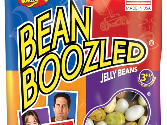 Jelly Belly's BeanBoozled jelly beans have an assortment