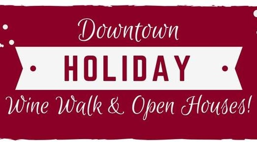 Enjoy a downtown wine walk and open houses at numerous downtown businesses in Marshfield.