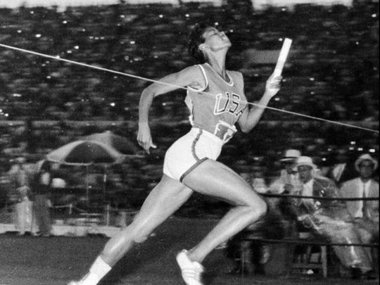 Told at age 4 that she would never walk again, Wilma Rudolph became the first woman ever to win three gold medals in track and field at the 1960 Olympic games in Rome. Rudolph moved to Indianapolis in 1982 and established the Wilma Rudolph Foundation. She died in 1994, at age 54, in Nashville, Tenn.  (AP Photo/File)