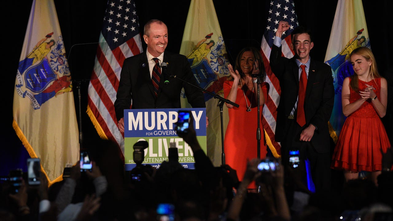 Democrat Phil Murphy wins N.J. governor's election