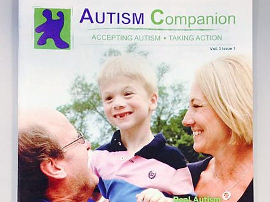 Autism Companion magazine is on its third issue featuring stories of people living with autism. The magazine is distributed free in Marsh and Kroger grocery stores.