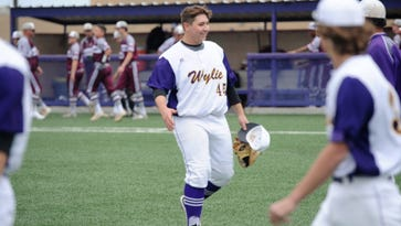 Almost Perfect: Smith retires first 19 in Abilene Wylie baseball's win over Brownwood