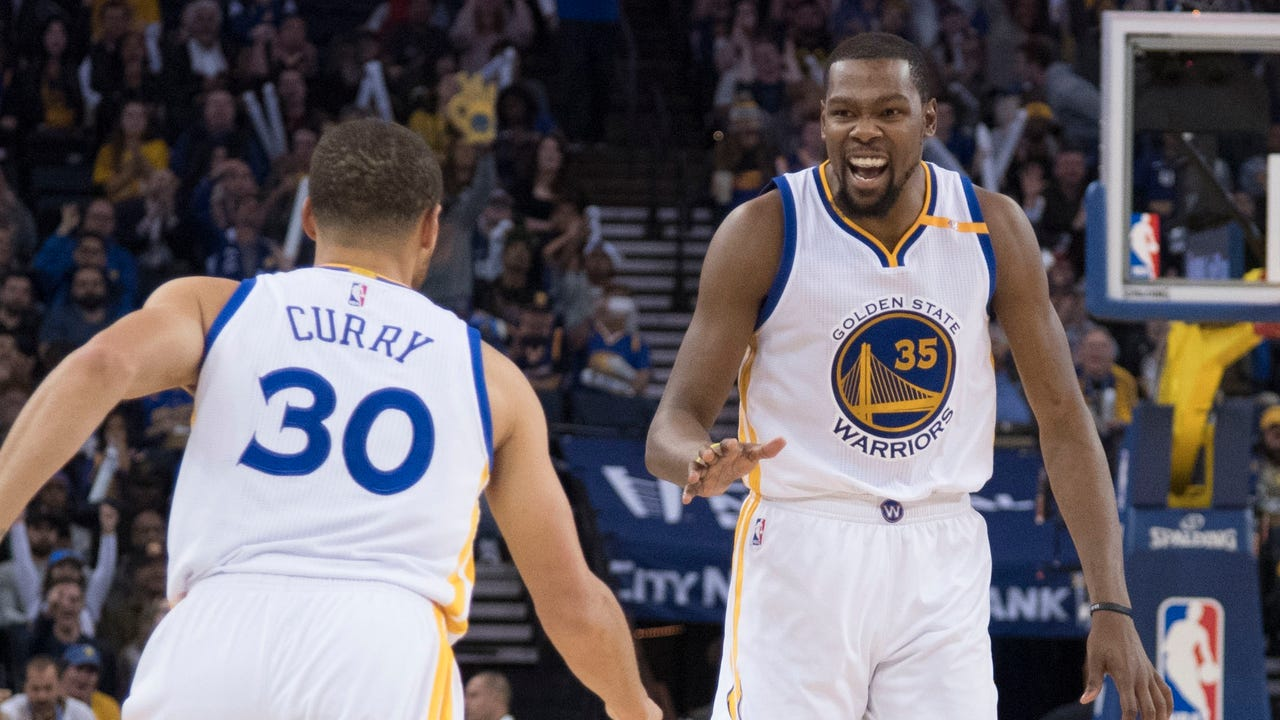 Golden State led wire-to-wire for a dominating 126-91 win over Cleveland.