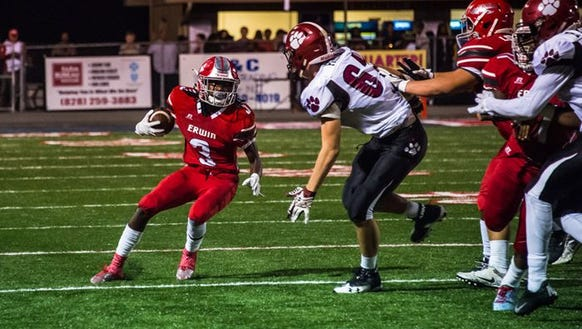 Asheville High beat Erwin 33-6 in their game Sept.