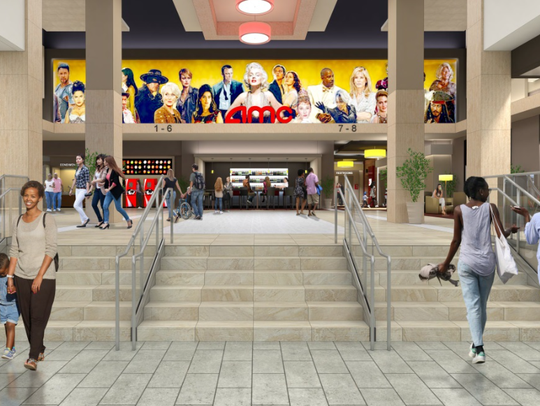 """An AMC Theatre will operate in an """"entertainment zone"""""""