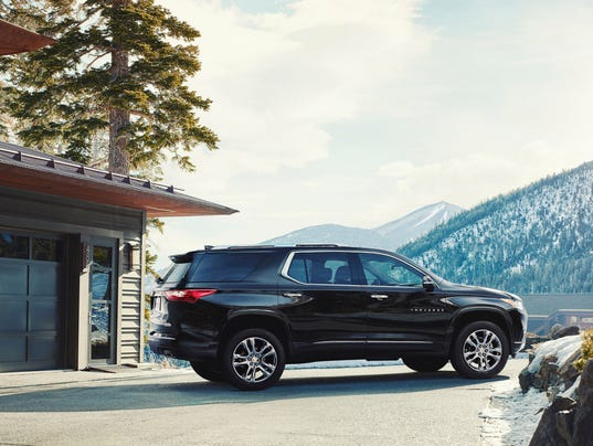 2018 Chevy Traverse High Country Takes The Family Suv To The Peak