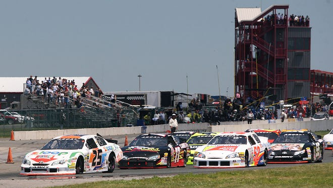 The ARCA Racing Series  at New Jersey Motorsports Park 2014.