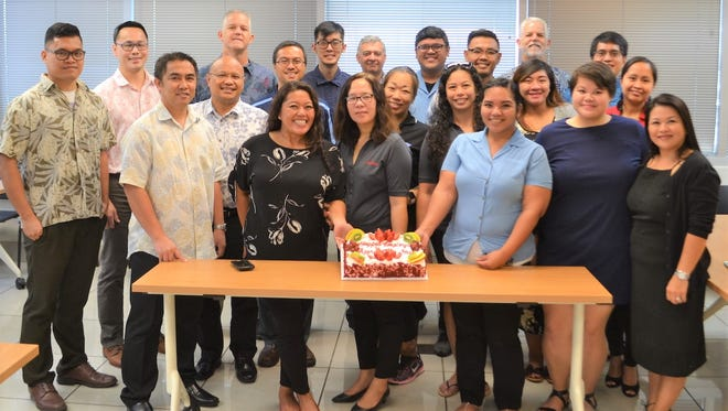 Triple J's management team recognized employees at each division Friday, including workers at the corporate office, for Employee Appreciation Day.