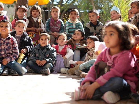 SYRIA-CONFLICT-SCHOOL-CHILDREN