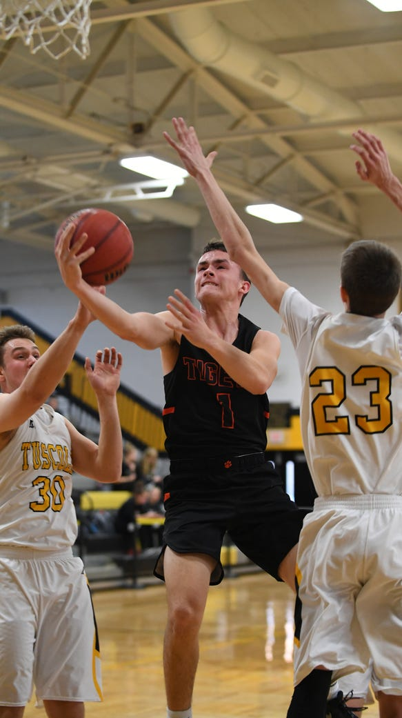 Tuscola defeated Rosman 89-48 in the Holiday Classic