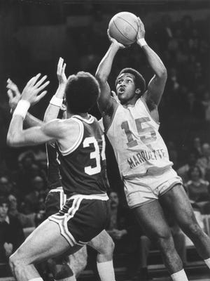 Butch Lee and Marquette had some interesting uniforms in the 1970s.