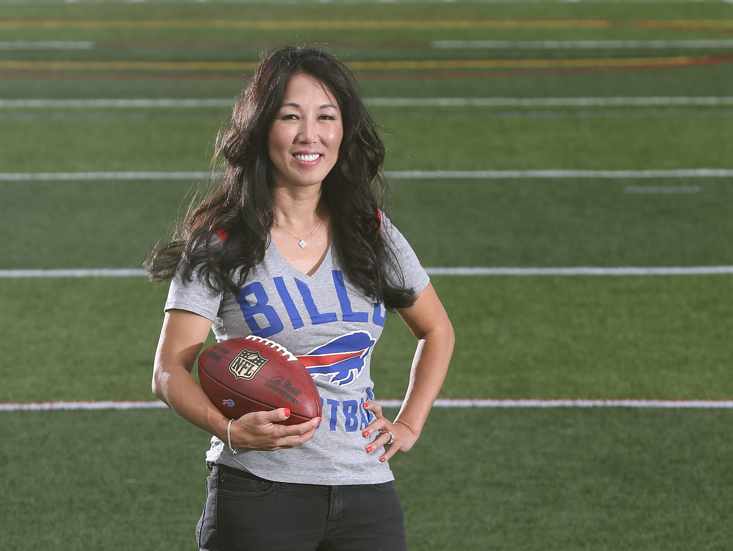 Buffalo Bills co-owner Kim Pegula.
